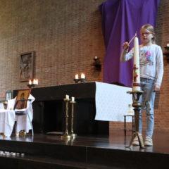 Paasviering in de kerk
